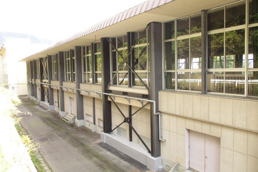 利根商業高校 第一体育館耐震補強改修